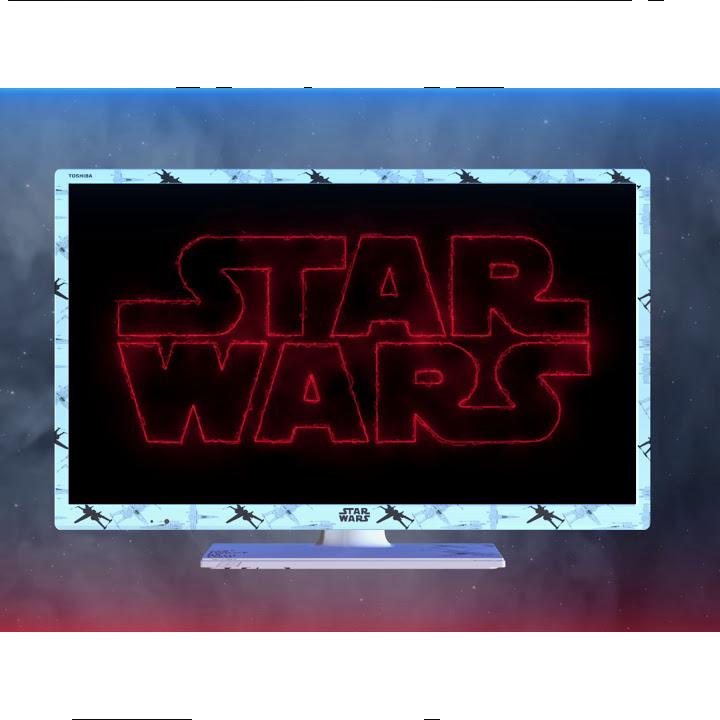 """24"""" Toshiba HD Ready Star Wars TV Right Thumbnail"""