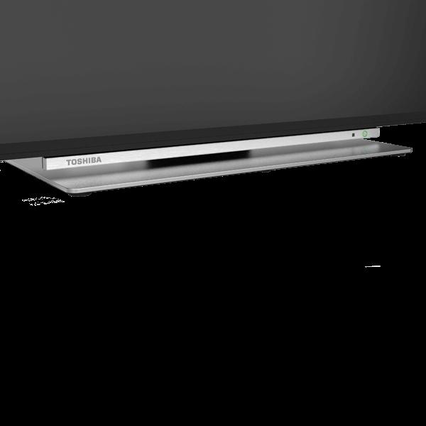 "43"" Toshiba Ultra HD TV 55584-4kmi1-stand"