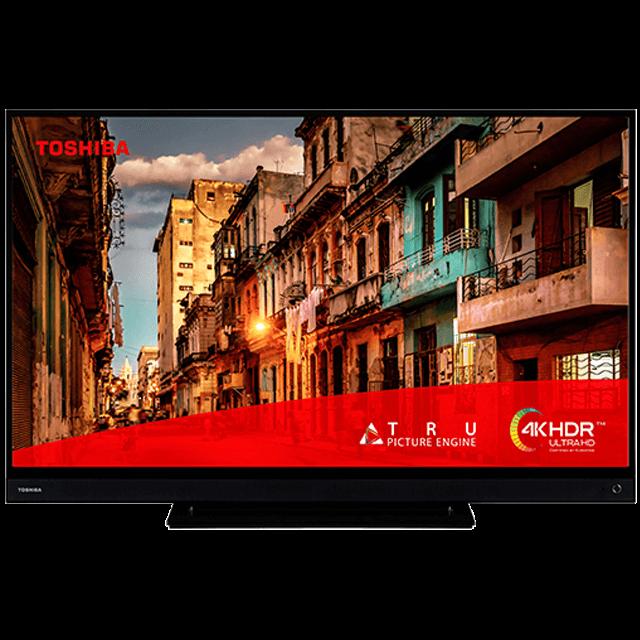 "55"" Toshiba Ultra HD TV 55tl5a63dg-front-screenfill"