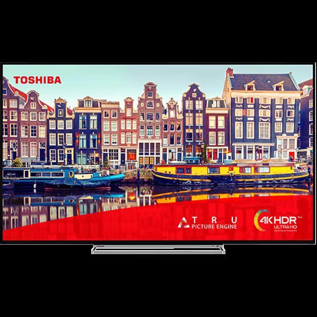 "55"" Toshiba Ultra HD TV 55vl5a63da-front-fill"