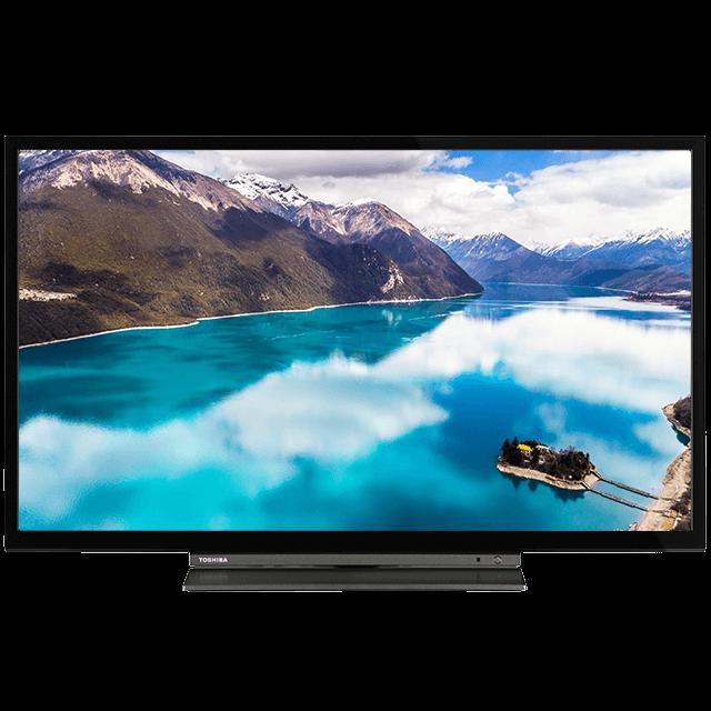 "32"" Toshiba Full HD TV Front-32580-dledbms-582titaniumsilver-cltitaniumsilver-black"