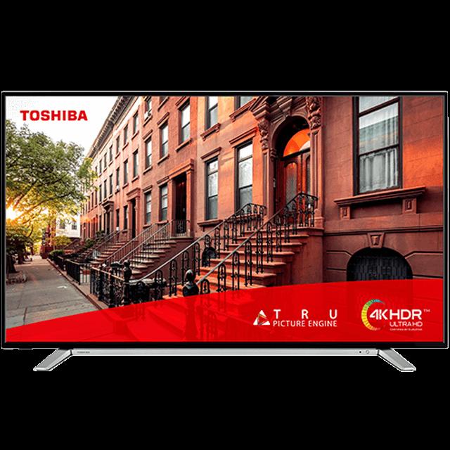 """49"""" Toshiba Ultra HD TV Front-fill-55ul2a63db"""