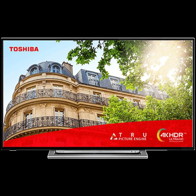 """43"""" Toshiba Ultra HD TV Front-fill-55ul3a63db"""