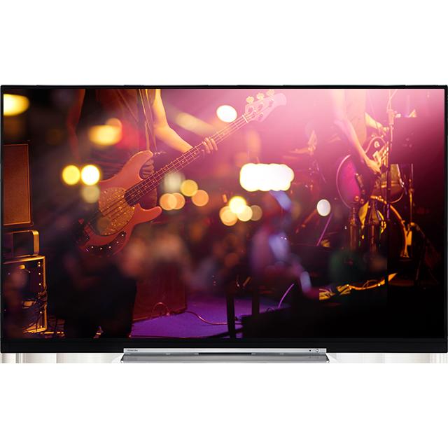 "55"" Toshiba XUHD WLAN TV Front"