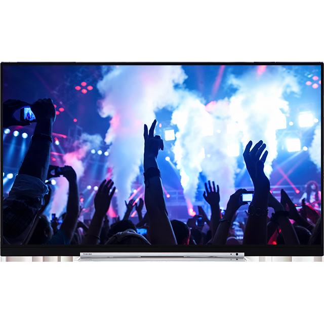 "49"" Toshiba XUHD WLAN TV Front"