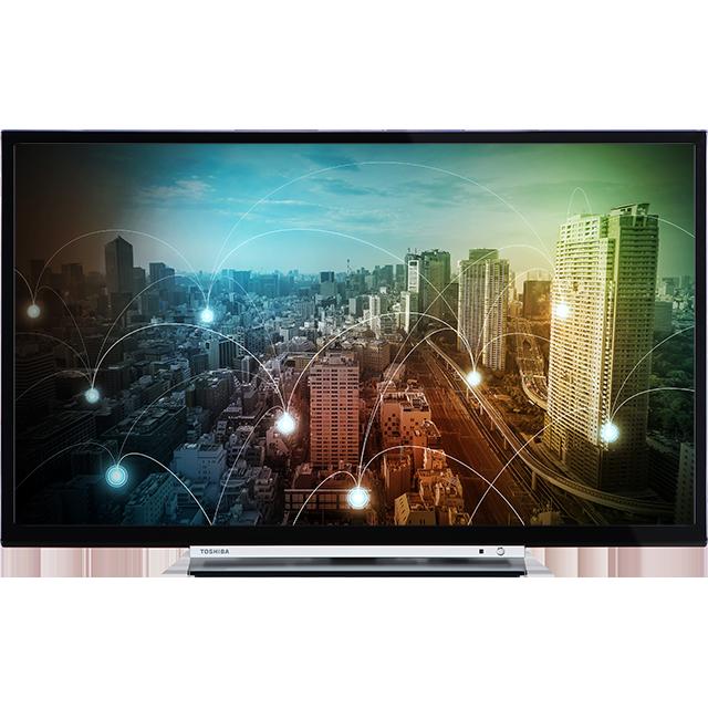 "24"" Toshiba HD Ready WLAN TV Front"