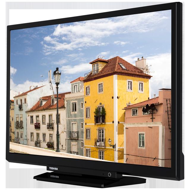 "24"" Toshiba Full HD WLAN TV Perspective-02-24480-vnb-ledbms-522black-clblack-black"