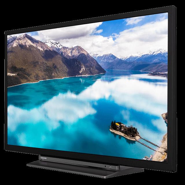 "32"" Toshiba Full HD TV Perspective-02-32580-dledbms-582titaniumsilver-cltitaniumsilver-black"