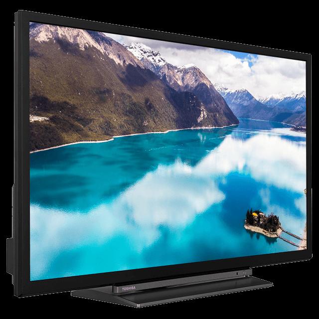 "32"" Toshiba HD Ready TV Perspective-2"