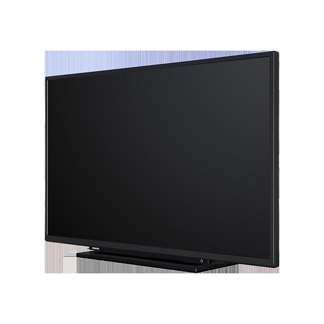 "43"" Toshiba Full HD TV Perspective-2"