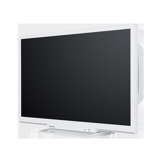 24 Zoll Toshiba HD Ready DVD TV Perspective-2