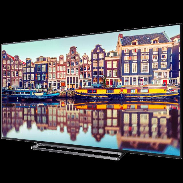 "49"" Toshiba Ultra HD TV Perspective1"