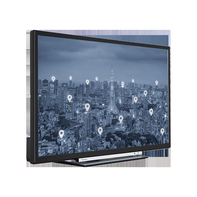 "32"" Toshiba HD Ready WLAN TV Perspective"