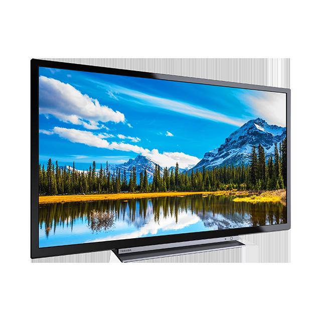 "32"" Toshiba Full HD WLAN TV Perspective"