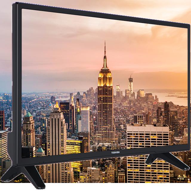 "32"" Toshiba HD Ready DVD TV Perspective"