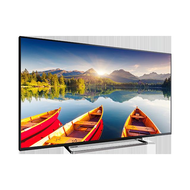 "49"" Toshiba Ultra HD TV Perspective"