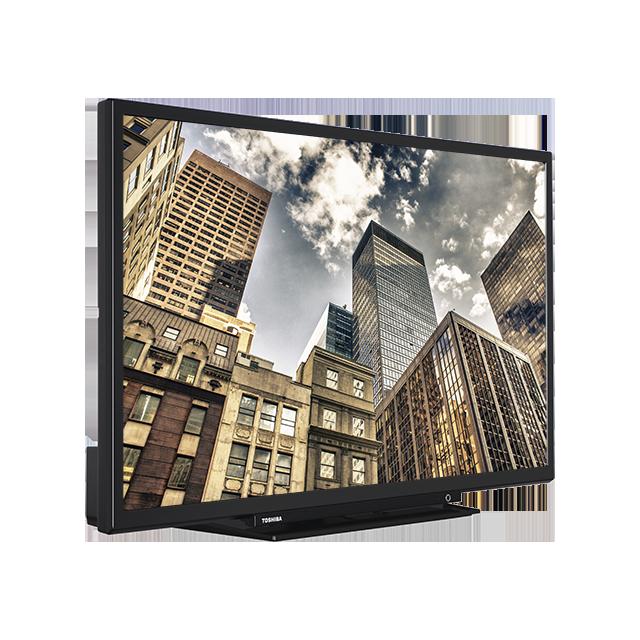 "24"" Toshiba HD-Ready TV Perspective"