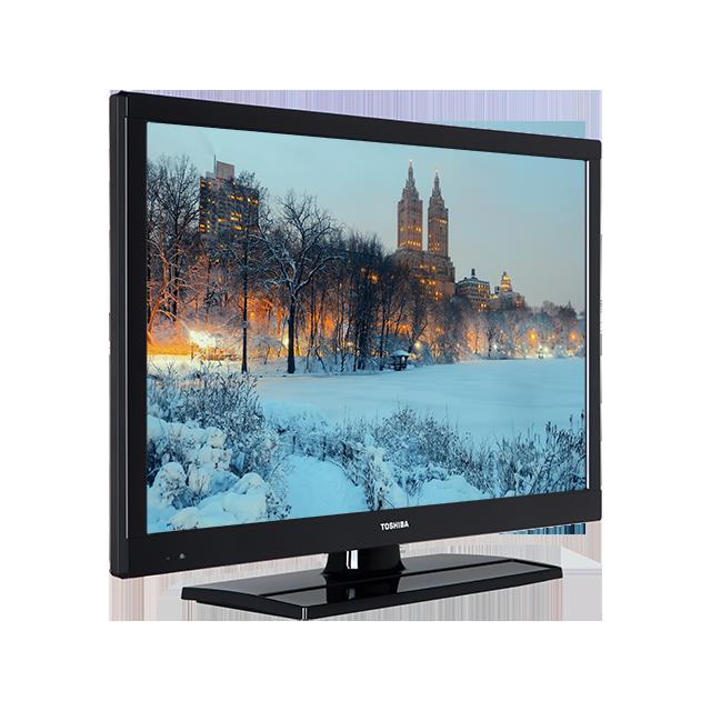 22 Zoll Toshiba Full HD TV Perspective