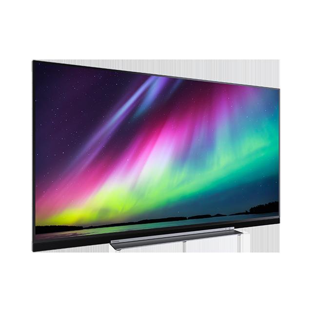 "55"" Toshiba XUHD TV Perspective"
