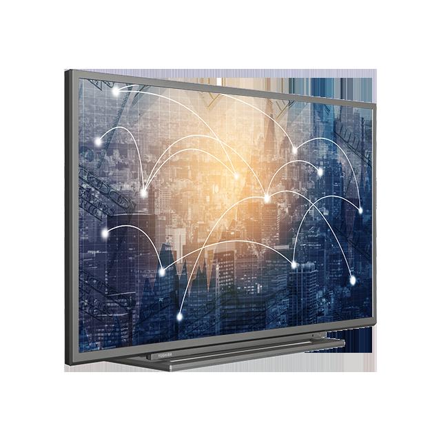 "39"" Toshiba Full HD WLAN TV Perspective"