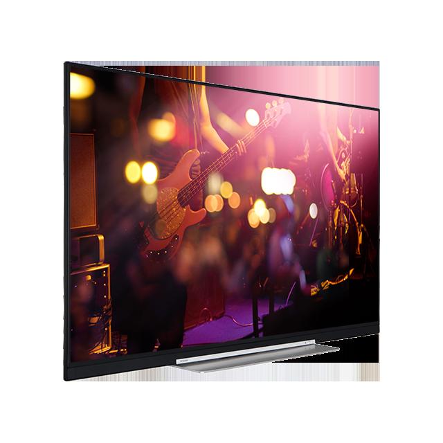 "55"" Toshiba XUHD WLAN TV Perspective"