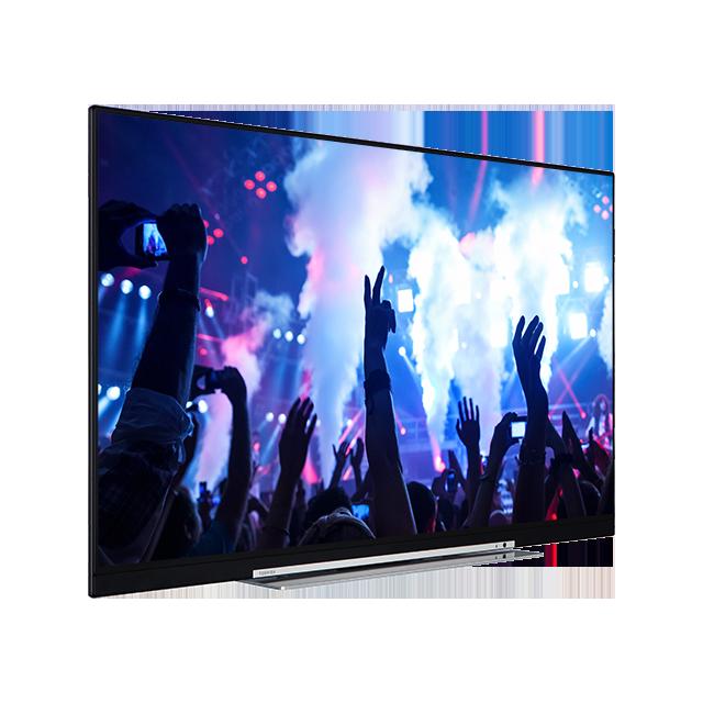 "49"" Toshiba XUHD WLAN TV Perspective"