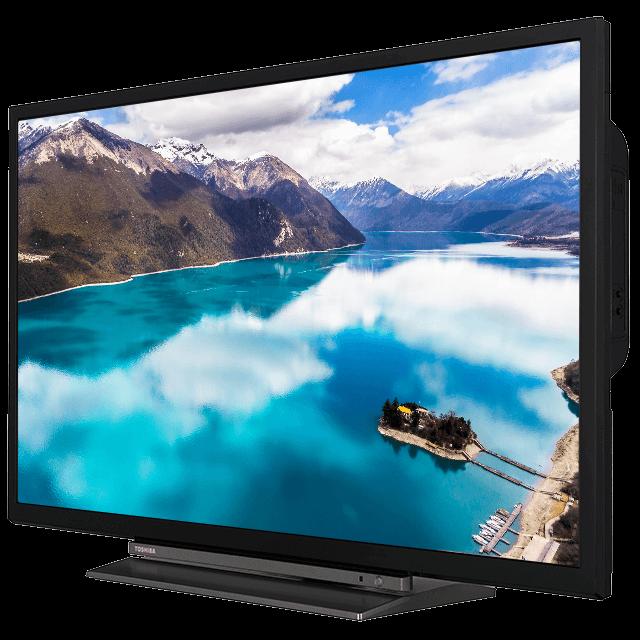 "32"" Toshiba HD Ready TV Perspective"