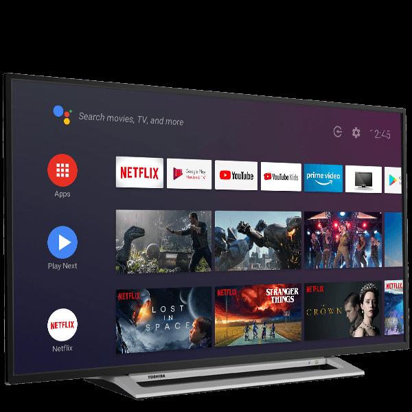 "50"" Toshiba Ultra HD TV Perspective"