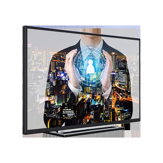 "49"" Toshiba Full HD WLAN TV Perspective"