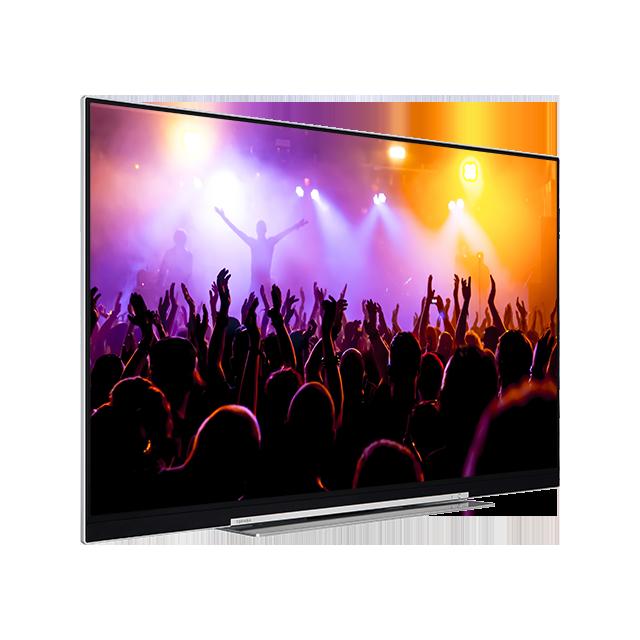 "49"" Toshiba XUHD TV Perspective"
