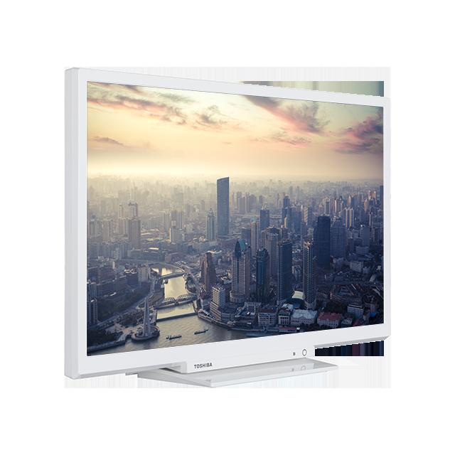24 Zoll Toshiba HD Ready DVD TV Perspective