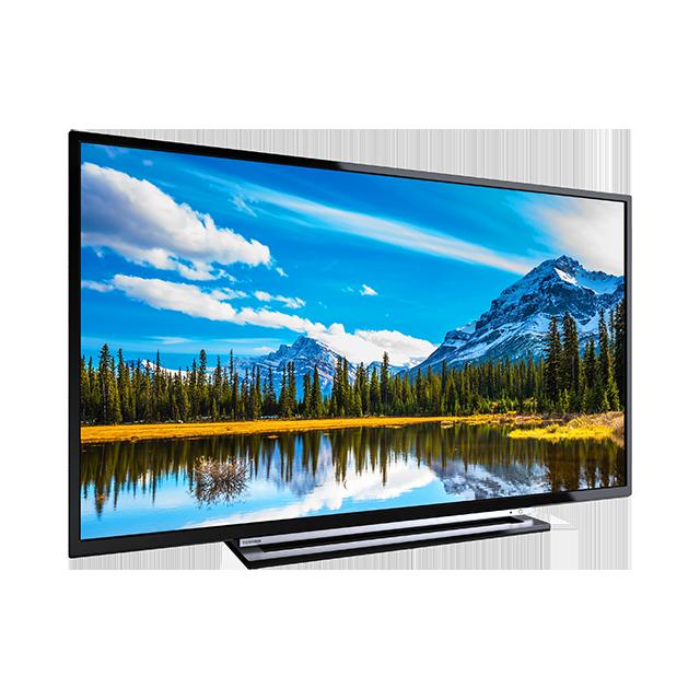 "43"" Toshiba Full HD WLAN TV Perspective"
