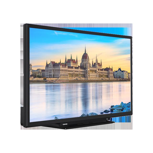 "32"" Toshiba Full HD TV Perspective"