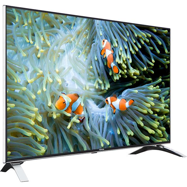 "49"" Toshiba Ultra HD WLAN TV Perspective"