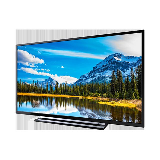 """43"""" Toshiba Full HD WLAN TV Right"""