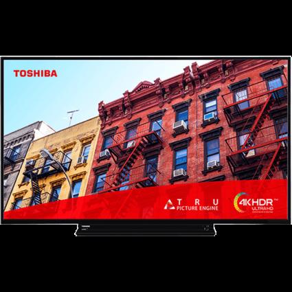 "43"" Toshiba Ultra HD TV 55vl3a63da-front-fill Thumbnail"