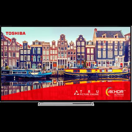 "65"" Toshiba Ultra HD TV 55vl5a63da-front-fill Thumbnail"