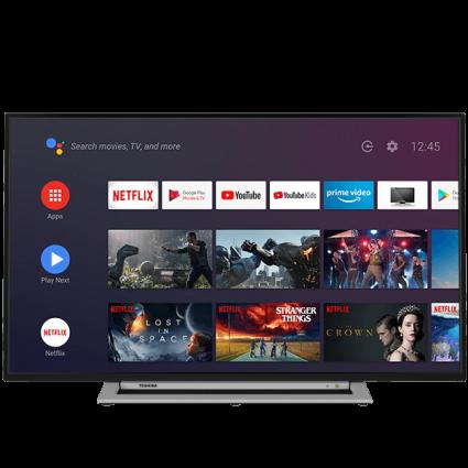 "43"" Toshiba Ultra HD TV Android-tv-front Thumbnail"