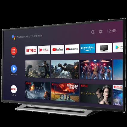 "43"" Toshiba Ultra HD TV Android-tv-perspective1 Thumbnail"
