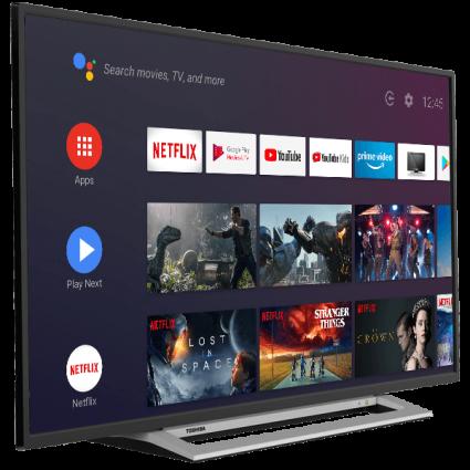"55"" Toshiba Ultra HD TV Android-tv-perspective2 Thumbnail"