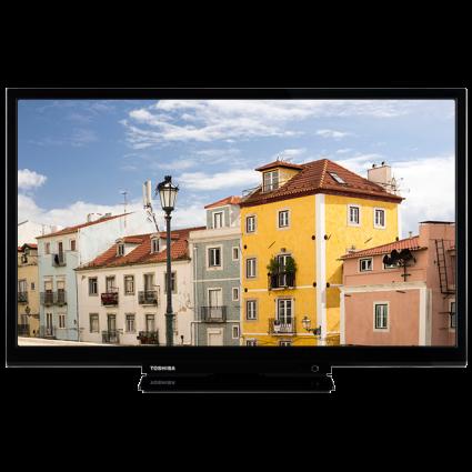 """24"""" Toshiba Full HD WLAN TV Front-24480-vnb-ledbms-522black-clblack-black Thumbnail"""