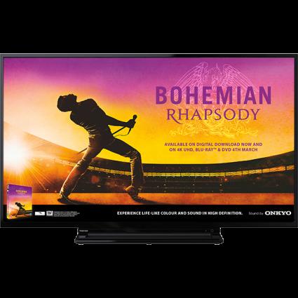 "43"" Toshiba Ultra HD TV Front-3b7447032623 Thumbnail"