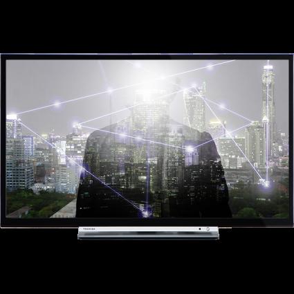 "28"" Toshiba HD Ready WLAN TV Front Thumbnail"