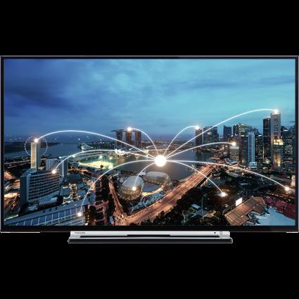 "43"" Toshiba Full HD WLAN TV Front Thumbnail"