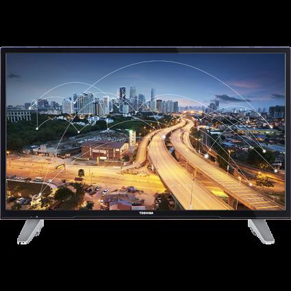 "49"" Toshiba Full HD WLAN TV Front Thumbnail"