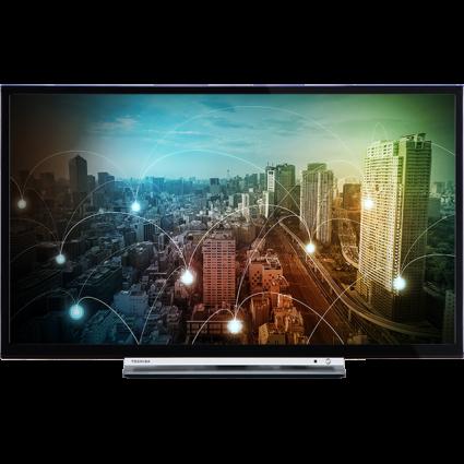 "24"" Toshiba HD Ready WLAN TV Front Thumbnail"