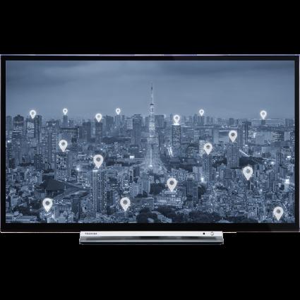 "32"" Toshiba HD Ready WLAN TV Front Thumbnail"
