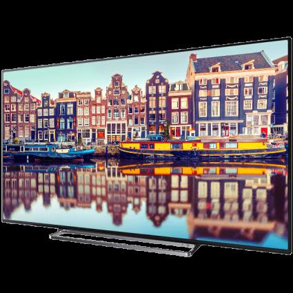 "65"" Toshiba Ultra HD TV Perspective1 Thumbnail"