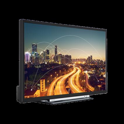 "24"" Toshiba HD Ready WLAN DVD TV Perspective Thumbnail"