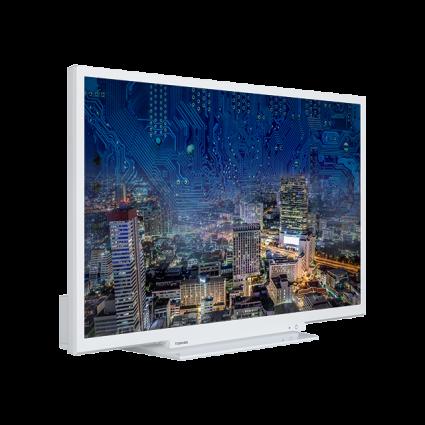 "32"" Toshiba Full HD WLAN TV Perspective Thumbnail"